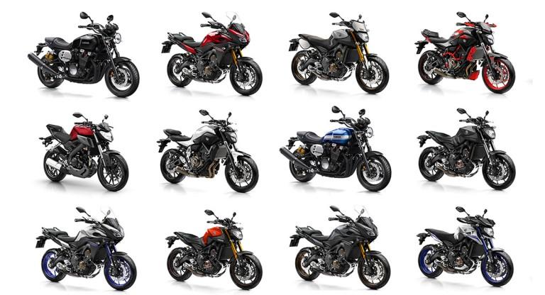 Yamaha Bike Range